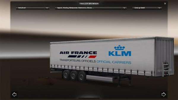Air France KLM trailer