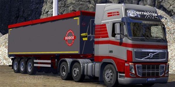 Bodex tipper trailer
