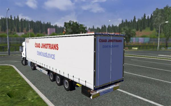 CSAD Jihotrans trailer