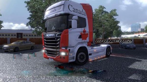 Canada – Skin Scania