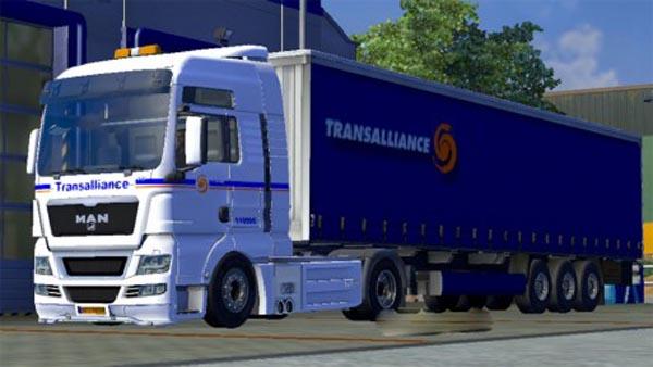 Combo Man Transalliance + trailer