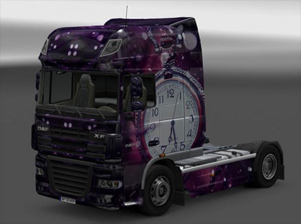 DAF FX The Clock skin