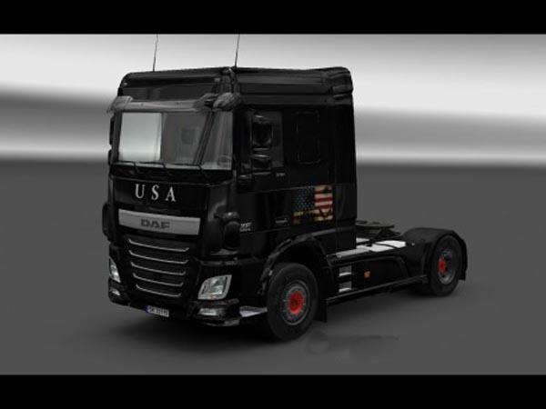 Daf Euro 6 America skin