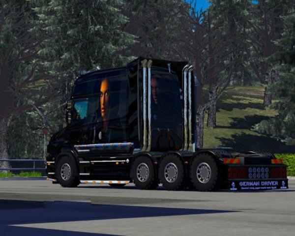 DarkLady Scania T Skin