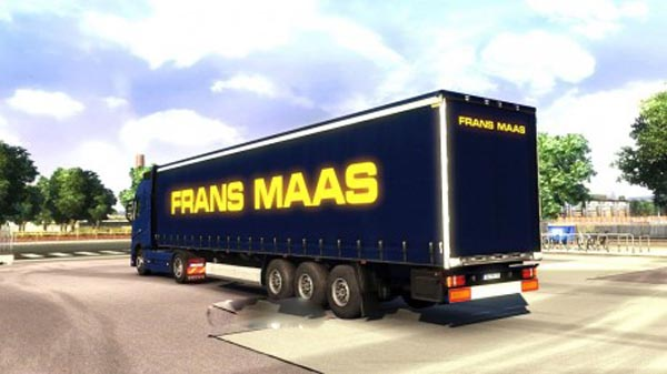 Frans Maas Transport Trailer Skins