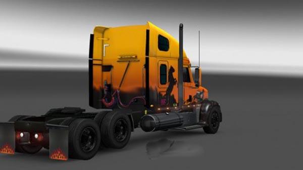Freightliner Coronado Taglift