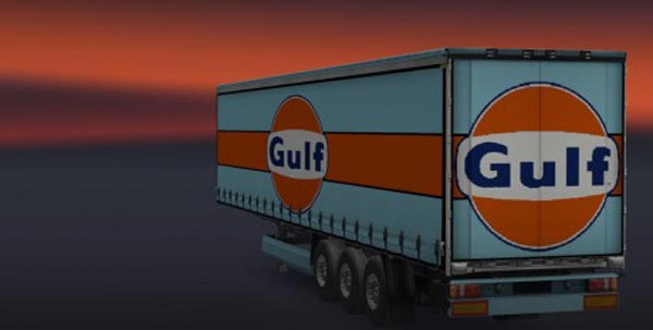 Gulf Racing Trailer Skin Pack fixed