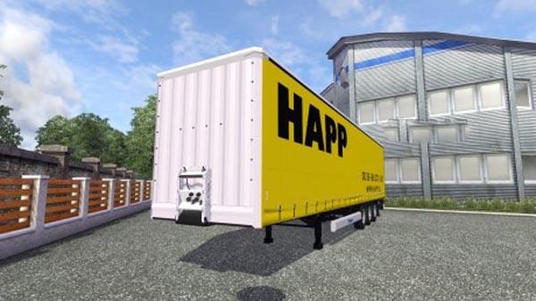 HAPP Krone Trailer