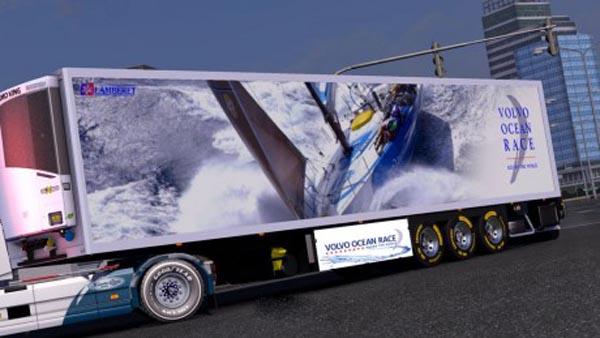 Lamberet Volvo Ocean Race Trailer