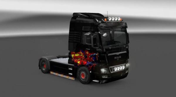 MAN TGX Superman Skin