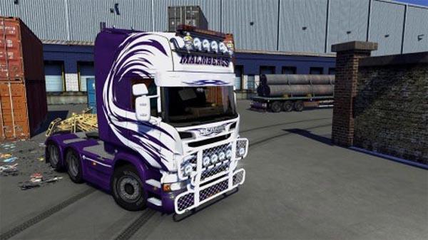 Malmbergs Skin for ScaniaR  Streamline