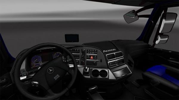 Mercedes Blueline Interior