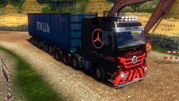 Mercedes Rantrans Skin
