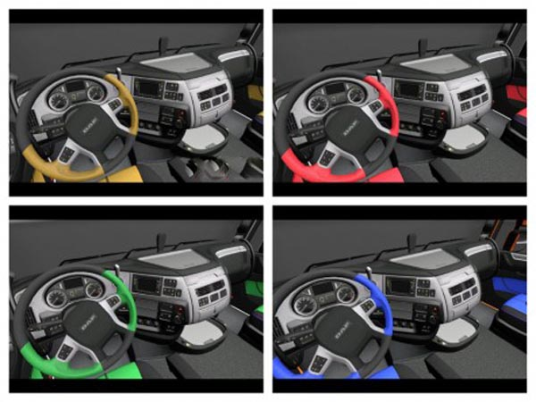 New DAF Euro 6 interiors pack 4+1