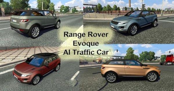 Range Rover Evoque AI Traffic Car