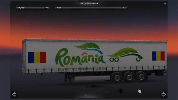 Romania Trailer Skin
