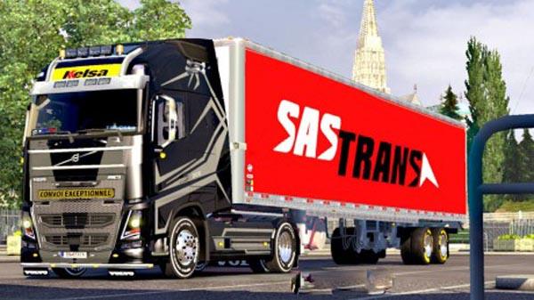 SAS American Trailer