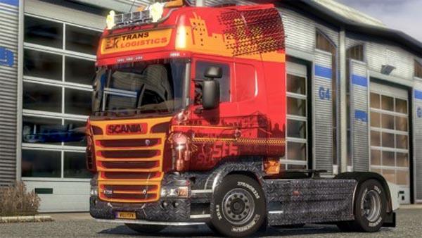 Scania City Skin