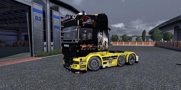 Scania Cowboy Skin