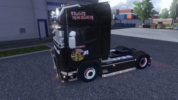 Scania Iron Maiden Skin