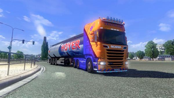 Scania LB Post skin