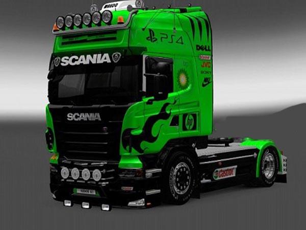 Scania PS4 skin
