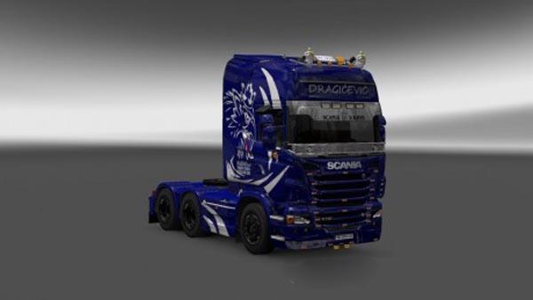 Scania R Dragicevic Skin