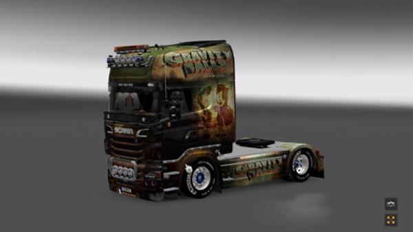Scania R Gravity Falls Skin