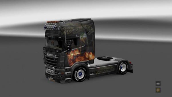 Scania R2009 War of the World New Generation Skin