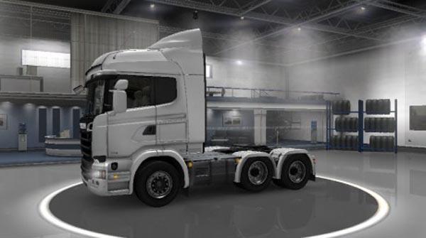 Scania Streamline 6×4 Midlift