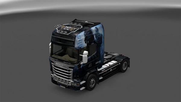 Scania Streamline CSGO skin