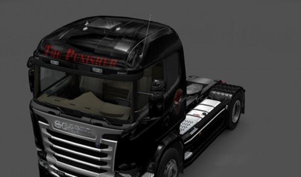 Scania Streamline Punisher Skin