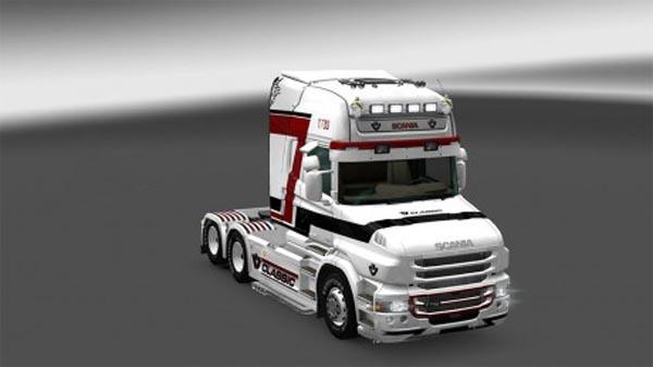Scania T Stripe Skin