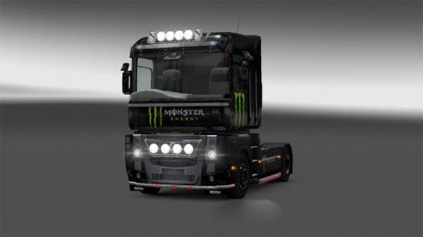 Skin Monster for Renault Magnum