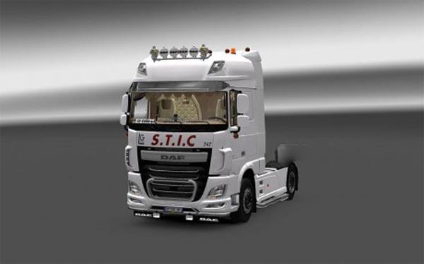 Skin Transport S.T.I.C Daf XF EURO 6