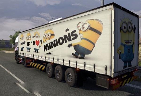 The Minions trailer