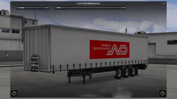 Trailer Standalone Norbert Dentressangle