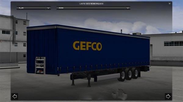 Trailer standalone GEFCO