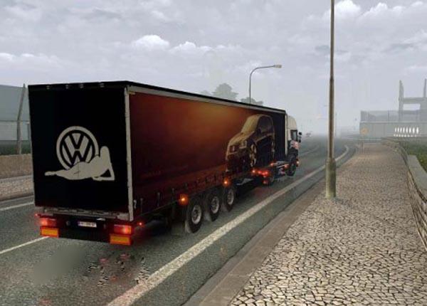 Volkswagen Golf Trailer