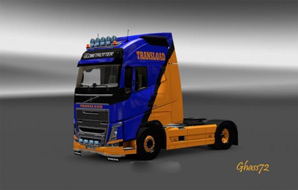 Volvo 2012 Transload skin