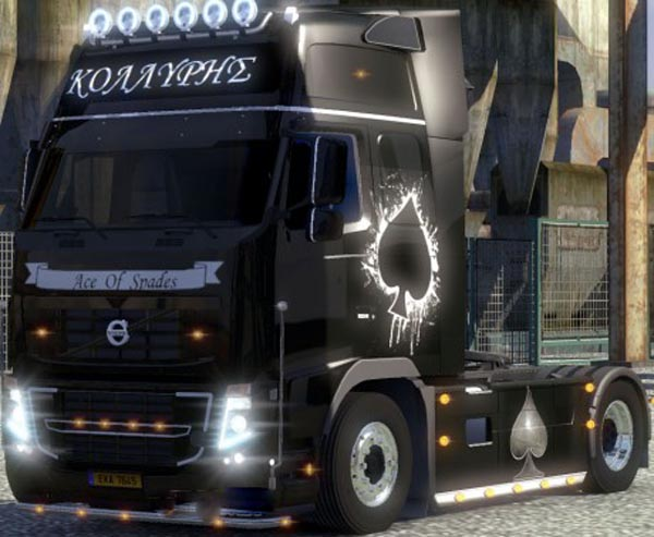 Volvo FH 2009 Ace of Spades Skin