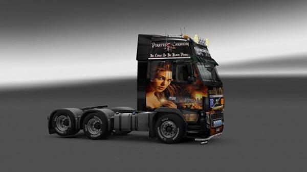 Volvo FH 2009 Black Perl Skin