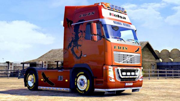 Volvo FH 2009 Faces Skin