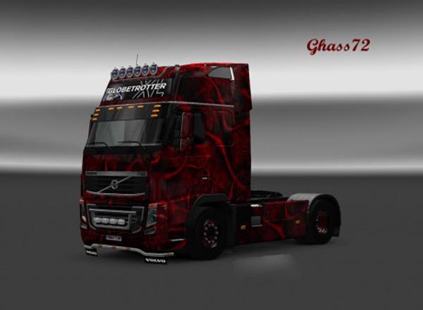 Volvo FH 2009 Uncle Jay Skin