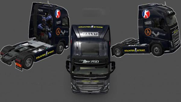 Volvo FH 2012 Counter Strike 1.6 Skin