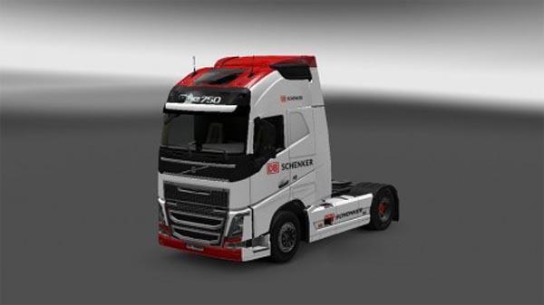 Volvo FH 2012 DB Schenker