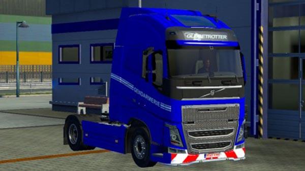 Volvo FH 2012 Gendarmerie Skin