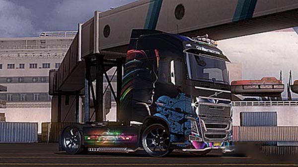 Volvo FH 2012 Light Angel Skin