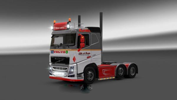 Volvo FH 2012 Skin Pack