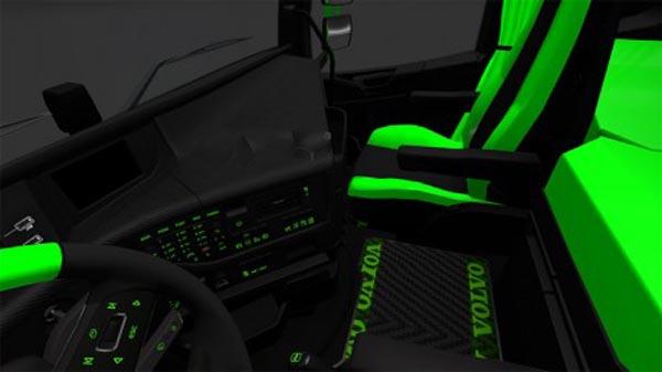 Volvo FH16 Greenline Interior